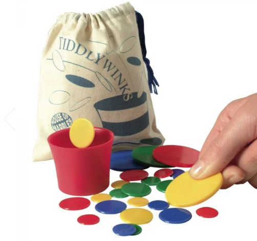 Simple pleasures: the traditional game of Tiddly Winks